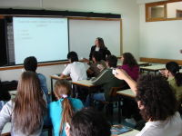 Utilização do TurningPoint em contexto de sala de aula