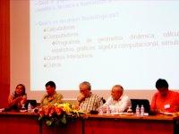 Mesa do debate O Ensino da Matemática - Recursos Tecnológicos